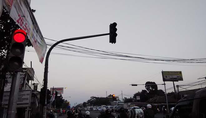 Traffic Light Kota Kediri Banyak Dilanggar